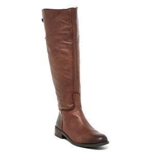 Vince Camuto Kadia Knee High Boots Brown Sz 6